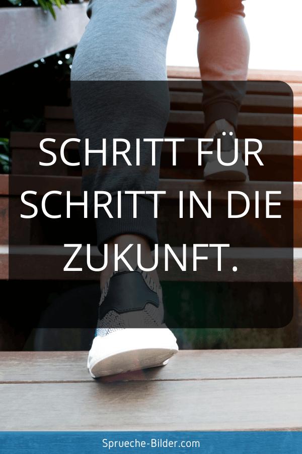 Jugendweihe Sprüche - Schritt für Schritt in die Zukunft.